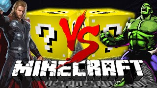 Minecraft: LUCKY BLOCK CHALLENGE | SUPER HEROES