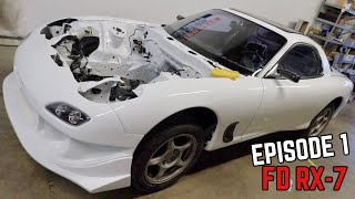 FD RX7 Assembly! - Starting from scratch
