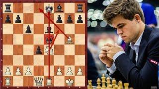 Magnus Carlsen's Strong Novelty In Sicilian Defence