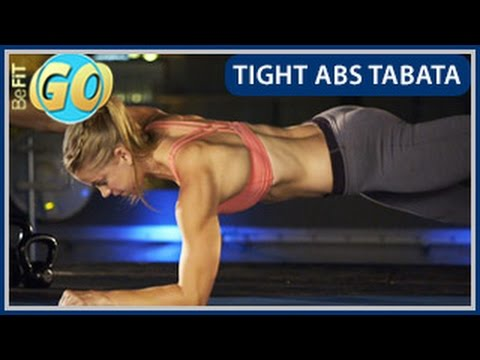 Tight Abs Tabata Workout: BeFiT GO- 10 Mins