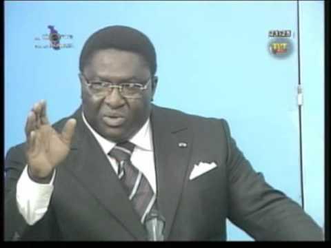 De l arrogance à la déchéance Pascal Bodjona vous n avez plus la parole