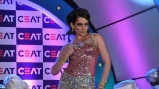 Kangana Ranaut's Performance At Ceat Cricket Awards
