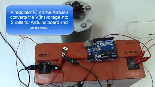 Power MOSFET Motor control with Arduino