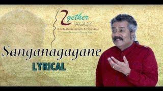 Shanganagagane-Lyrical | Together Tagore | Hariharan | Rabindrasangeet