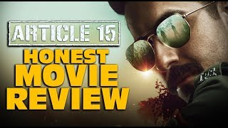ARTICLE 15 : Movie Review