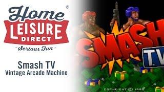Smash TV Vintage Arcade Machine (Williams 1990)