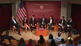 Harvard's Undergraduate Council Debate   Institute of Politics