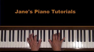 Angel by Sarah McLachlan Piano Tutorial SLOW