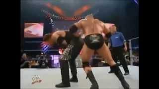 WWE No Mercy 2003 Undertaker Vs Brock Lesnar Biker Chain Match Highlights