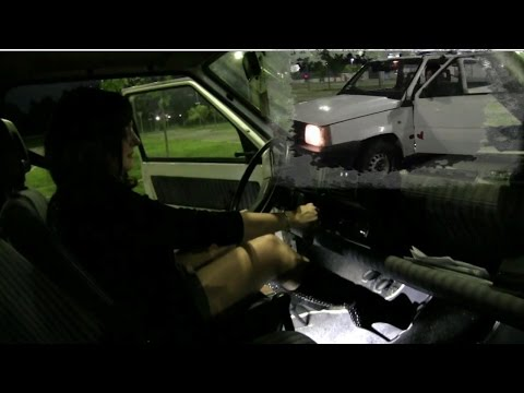 Miss Vicky cranking, revving, driving and stalling ... in the evening! | Trailer Pedal Pumping
