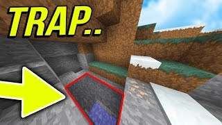 100% SECRET UNDERGROUND TROLL PIT! | ( Minecraft DISTRICT FACTIONS ) #13