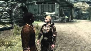 Elder Scrolls V Skyrim - Gameplay 215  - Getting party clothes.mp4 - (Denonu Plays)