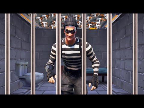 Escaping PRISON In FORTNITE Fortnite Prison Break
