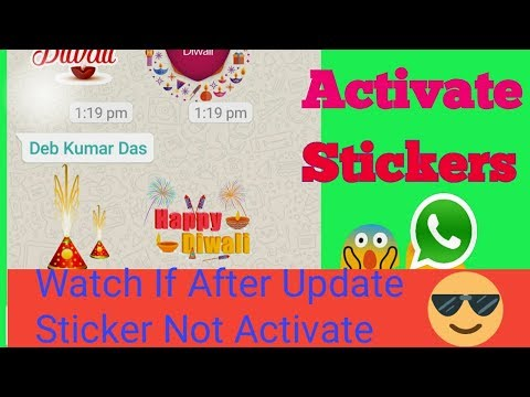 Xxx Mp4 How To Send Whatsapp Stickers Hindi After Whatsapp Update Sticker Not Working Activation Guide 3gp Sex