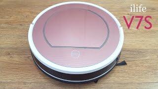 סקירה לשואב אבק רובוטי חכם ilife V7S Smart Robotic Vacum Cleaner