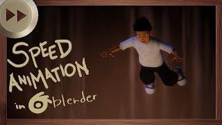 Gregor Falls to Underland - BLENDER SPEED ANIMATION