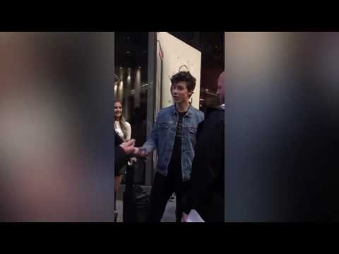 SHAWN MENDES SWEARING AND YELLING AT FAN | MendesLyrics