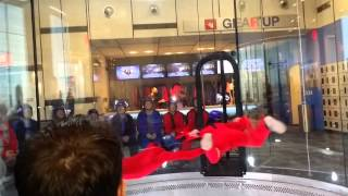 I fly Frisco. Indoor Skydiving