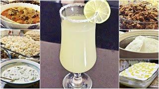 A DINNER VLOG / Spicy Lemon Drink, Rice Roti/Pathiri, Beef roast, Creamy Pineapple Pudding
