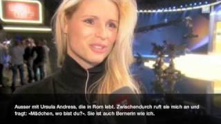 Michelle Hunziker backstage bei «Wetten, dass ..?» | 5. November 2010