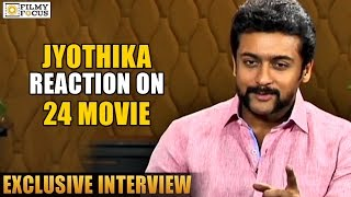 Surya about Jyothika and Kids Shocking Reaction on 24 Movie - Filmyfocus.com
