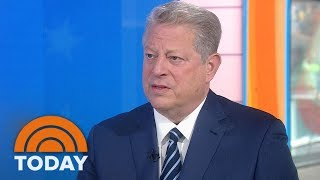 Al Gore: I'd Hoped Donald Trump Would 'Come To His Senses' On Paris Climate Pact   TODAY