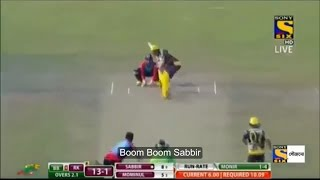 Boom Boom Batting of Sabbir Rahman Today at BPL (T20 Match)
