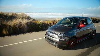 Car Tech - The 2015 Fiat 500e makes going green chic and easy