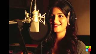 Shruti Haasan sings for akshara in Shamitabh!