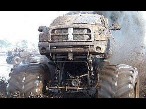 Some mudding 36000 HP truck