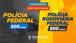 Autorização Concurso PF e PRF - 1.000 VAGAS