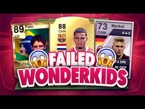 Failed WONDERKIDS and Where they are NOW In Fifa 17 Ultimate Team
