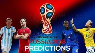 World Cup 2018 *PREDICTIONS* V2