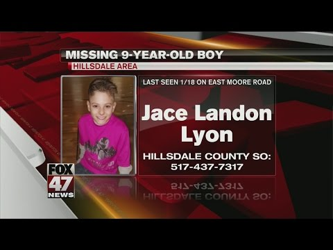 Hillsdale area boy reported missing