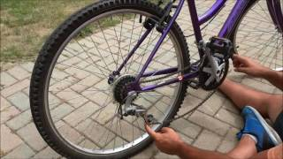 How To Put A Bike Chain Back On-EASY Tutorial