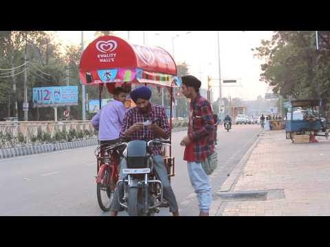 Mujhe Es Address Pr Jana Hai - Funny Video - Best Punjabi Pranks - (Pranks In India) - Singh Sixteen
