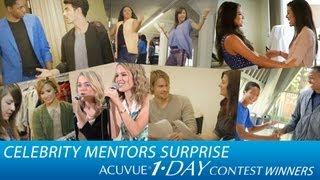 Zendaya, Bridgit Mender & All Celeb Mentors Surprise Contest Winners