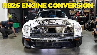 IT'S HERE!! Our 240Z Build Begins...