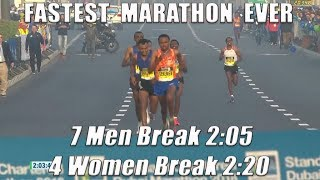 Fastest Marathon Ever – Dubai 2018 [HD]