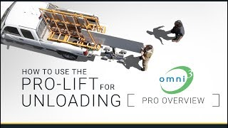 Omni Cubed Pro Overview: Unloading with the Pro-Lift