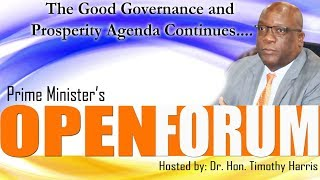 Prime Minister's Open Forum (May 20, 2018)