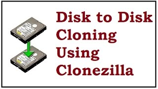 Disk to Disk Cloning using Clonezilla | Clone Dual Boot ( Windows & Linux) Hard Drive