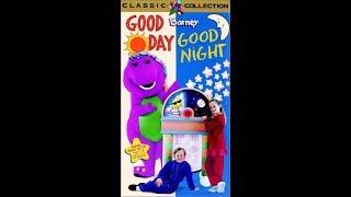 Barney's Good Day, Good Night 1997 VHS