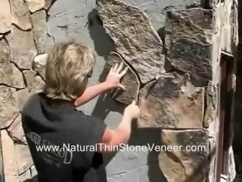 Natural Stone Veneer Instalation