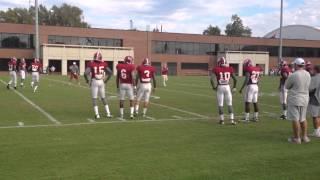 Alabama defensive backs make Nick Saban mad