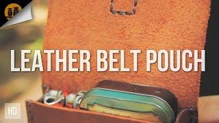 Krik's Handmade Leather Belt Pouch