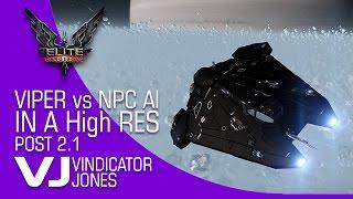 Elite Dangerous Post 2 1 AI vs Viper in HighRes