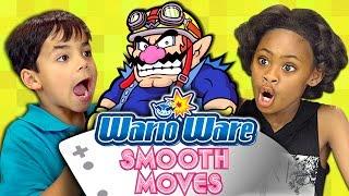 WARIOWARE: SMOOTH MOVES (Kids React: Gaming)