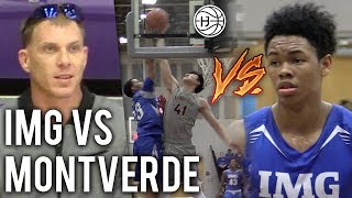 Jason Williams WATCHES Anfernee Simons and IMG VS Montverde and Kevin Zhang! NBA PROSPECTS BATTLE!