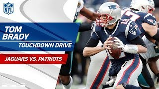 Gronkowski Leaves Game w/ Concussion on Pats TD Drive | Jaguars vs. Patriots | AFC Championship HLs